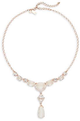 Kate Spade Crystal Cascade Mini Necklace