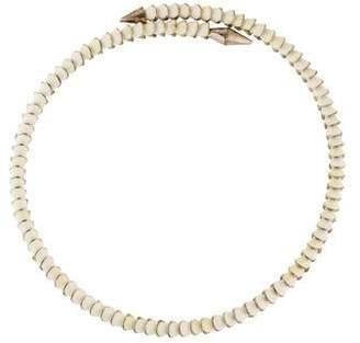 Eddie Borgo Scaled Heart Necklace