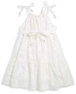 Zimmermann Kids Little Girl's& Girl's Juniper Tie Dress