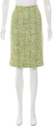 Dolce & Gabbana Tweed Knee-Length Skirt