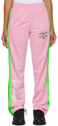 Palm Angels Pink ICECREAM Edition Skull Track Pants