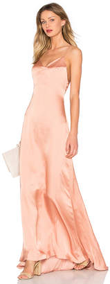 Lovers + Friends Lovers + Friends x REVOLVE The Slip Dress in Tan $298 thestylecure.com