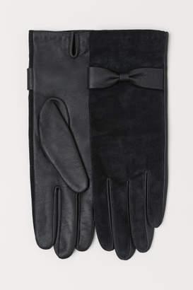 H&M Suede Gloves - Black