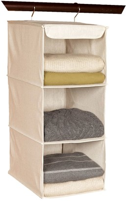 Richard's Homewares Richards Homewares Loft Natural 3-Shelf Hanging Sweater Organizer