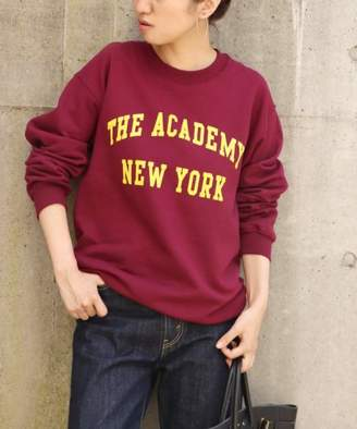 Spick and Span (スピック アンド スパン) - Spick & Span THE ACADEMY NY TANYロゴ クルーネックスウェット◆