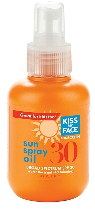 Kiss My Face Sun Spray Oil SPF 30