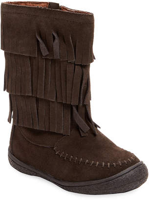 L'amour & Angel Fringed Leather Boot