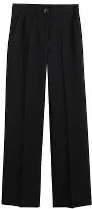 MANGO High-waist palazzo trousers