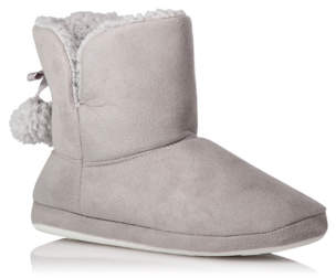 George Grey Borg Lined Slipper Boots