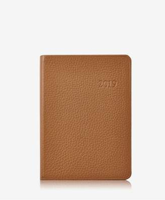 GiGi New York 2019 Notebook In Sable Pebble Grain