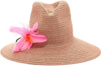Albertus Swanepoel M'O Exclusive Glenda Floral-Embellished Hat