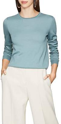 The Row Women's Rena Cashmere Crewneck Sweater - Blue