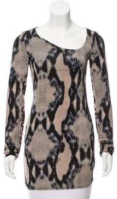 Just Cavalli Long Sleeve Knit Tunic