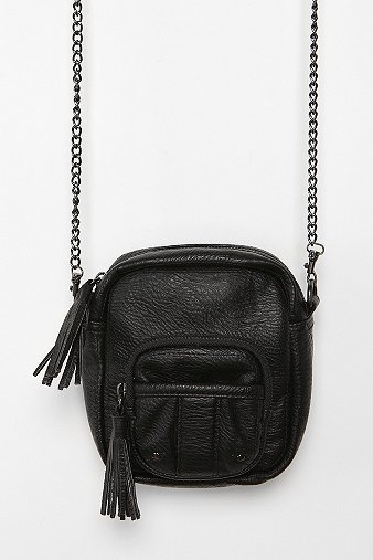 Kimchi Blue Camera Tassel Crossbody Bag