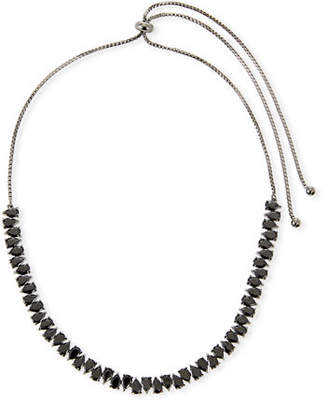 Fallon Monarch Jagged Edge Crystal Necklace