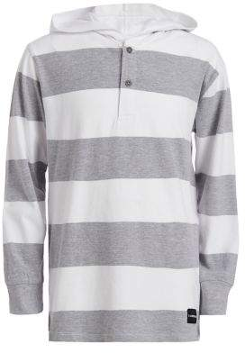 Calvin Klein Jeans Boy's Colorblock Cotton Rugby Hoodie