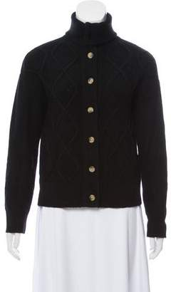 Frame Cashmere Button-Up Cardigan
