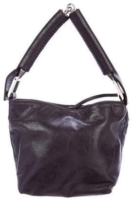 Fendi Leather Hinge-Handle Mini Bag