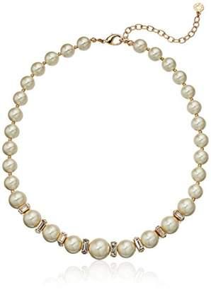 Anne Klein Gold Tone Collar Necklace
