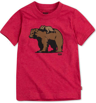 Levi's Daddy & Me Collection Little Boys Papa Bear & Little Bear Graphic T-Shirt