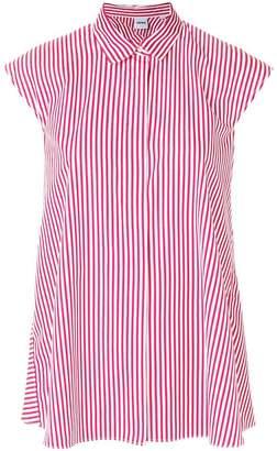 Aspesi striped sleeveless blouse