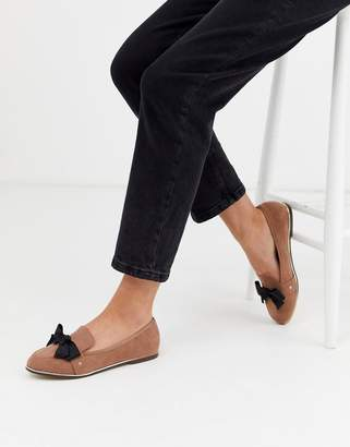 Miss KG bow detail loafers