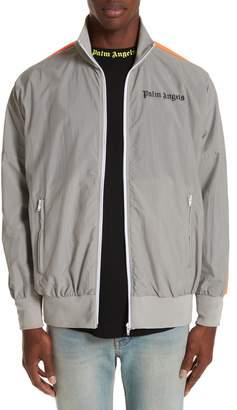 Palm Angels Loose Fit Zip Track Jacket