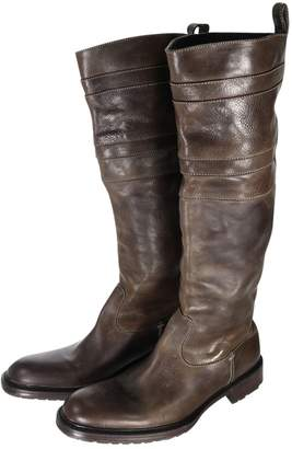 N.D.C. Made By Hand Brown Leather Boots