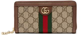 Gucci Ophidia GG Supreme leather wallet