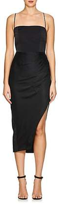"MANNING CARTELL Women's ""Status Update"" Washed Satin Dress - Black"