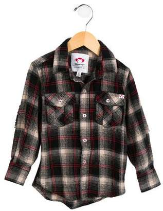 Appaman Fine Tailoring Boys' Plaid Button-Up Shirt