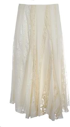 Chloé Lace Detail Skirt