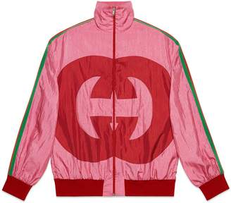 Interlocking G technical jersey jacket