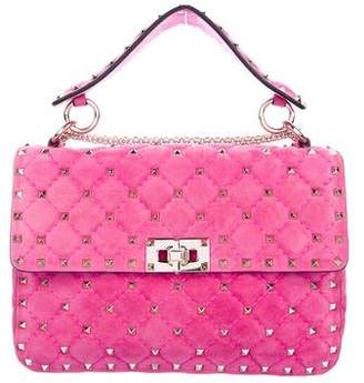 Valentino Medium Rockstud Spike Chain Bag