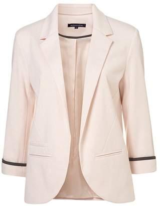 Summerwhisper Women's Vivid Color No Closure Suit Cardigan Blazer