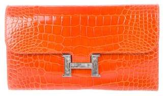 Hermes Alligator Constance Wallet