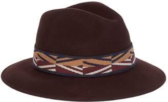 Max Mara Wool Wide-Brim Fedora