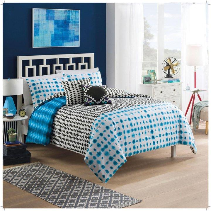Blissliving HomeBlissliving Home Vue Zazu Reversible Comforter Set - Full/Queen - 5 pc