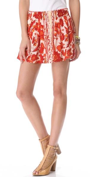 Rebecca minkoff Dane Bandana Print Skirt
