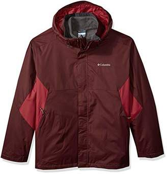 Columbia Men's Big and Tall Eager Air Big & Tall Interchange Jacket,T