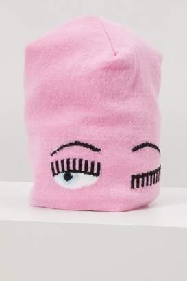 Chiara Ferragni Cashmere and wool hat