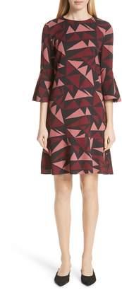 Lafayette 148 New York Billie Bell Sleeve Dress