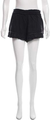 Etoile Isabel Marant Crochet-Accented Mini Shorts