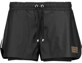 Monreal London Hero Layered Stretch-Knit Shorts
