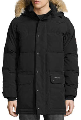 Canada Goose Emory Down Parka with Fur-Trim Hood