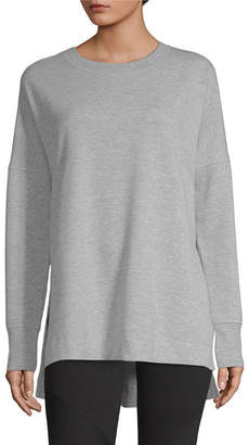 Xersion Womens Crew Neck Long Sleeve Sweatshirt