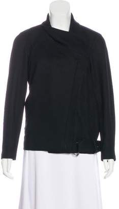 Helmut Lang Asymmetrical Wool Jacket