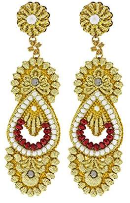 Sveva Collection Women's Venezia Earrings