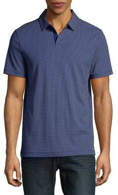 Michael Kors Interlock-Knit Polo