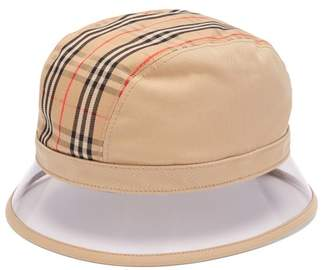 Burberry 1983 Vintage Check Bucket Hat - Womens - Beige